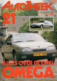Opel Omega A  Brochure 86 #4 Nederlands