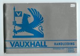Vauxhall Chevette Cavalier Carlton Royale  Instructieboekje 79 #1 Nederlands