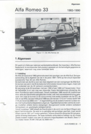 Alfa Romeo 33  Vraagbaak ATH 83-90 #1 Nederlands