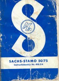 Sachs-Stamo 50/75 Nr. 410.2 H iNstructieboekje - #1 Nederlands