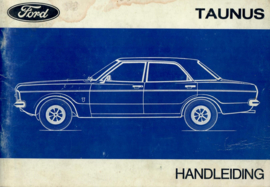 Ford Taunus  Instructieboekje 71 #2 Nederlands