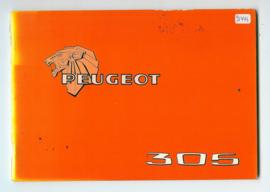 Peugeot 305  Instructieboekje 78 #1 Nederlands Duits Frans Italiaans