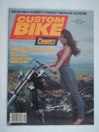 Costum Bike Choppers Tijdschrift 1982 Augustus #1 Engels