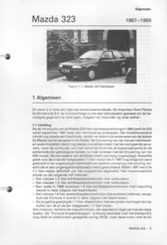 Mazda 323  Vraagbaak ATH 87-89 #1 Nederlands