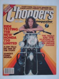 Choppers Tijdschrift 1979 April #1 Engels