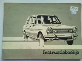Chrysler Horizon  Instructieboekje 76 #1 Nederlands