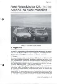 Ford Mazda Fiesta 121  Vraagbaak ATH 94-96 #1 Nederlands