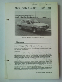 Mitsubishi Galant  Vraagbaak ATH 80-84 #1 Nederlands