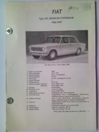 Fiat 124  Vraagbaak ATH 66-67 #2 Nederlands