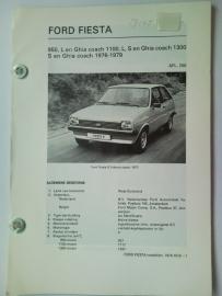 Ford Fiesta  Vraagbaak ATH 76-79 #2 Nederlands