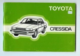 Toyota Cressida  Instructieboekje 85 #2 Nederlands