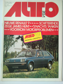 Autovisie   Tijdschrift 1975 NR 14 #1 Nederlands