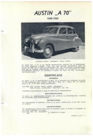 Austin A70  Vraagbaak ATH 49-50 #1 Nederlands