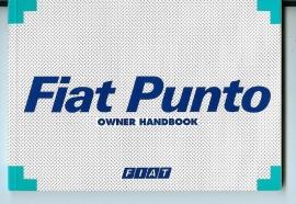 Fiat Punto  Instructieboekje 99 #1 Engels