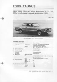 Ford Taunus  Vraagbaak ATH 71 #2 Nederlands