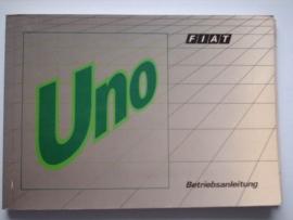 Fiat Uno  Instructieboekje 90 #1 Duits