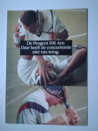 Peugeot 106  Brochure 93 #1 Nederlands