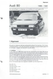 Audi 80  Vraagbaak ATH 86-91 #2 Nederlands