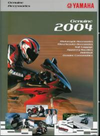 Yamaha Motor en Scooter accessoires Alle Brochure .04 #1 Engels