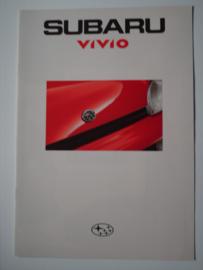 Subaru Vivio  Brochure 93 #2 Nederlands