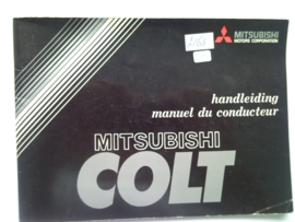 Mitsubishi Colt  Instructieboekje 79 #2 Nederlands Frans