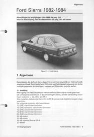 Ford Sierra  Vraagbaak ATH 82-84 #1 Nederlands