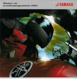 Yamaha Motor en Scooter programma Alle Brochure .04 #1 Nederlands