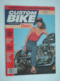 Costum Bike Choppers Tijdschrift 1992 November #1 Engels