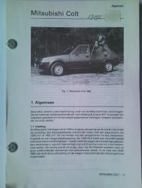 Mitsubishi Colt  Vraagbaak ATH 80 #1 Nederlands
