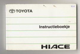 Toyota Hiace  Instructieboekje 90 #2 Nederlands