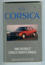 Chevrolet Corsica  Instructieboekje 90 #1 Engels