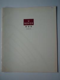 Rover 800  Brochure 93 #3 Nederlands