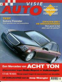 Autovisie   Tijdschrift 1998 NR 04 #1 Nederlands