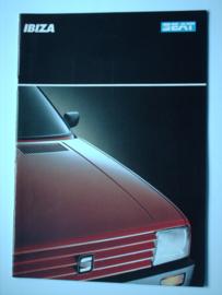 Seat Ibiza  Brochure 88 #3 Nederlands
