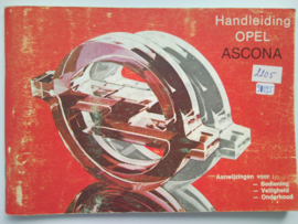 Opel Ascona C  Instructieboekje 82 #1 Nederlands