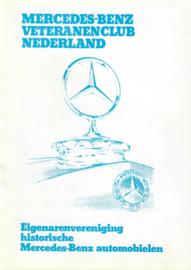 De Zilverster  Huishoudelijk Regelement Mercedes 170 Club NL 70 #1 Nederlands