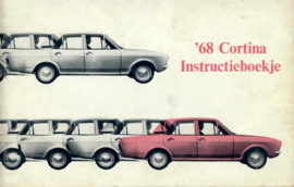 Ford Cortina  Instructieboekje 68 #1 Nederlands