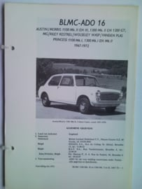 BLMC 1100 1300 Ado 16 Vraagbaak ATH 67-70 #3 Nederlands