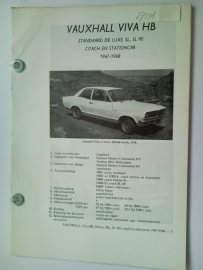 Vauxhall Viva HB  Vraagbaak ATH 67-68 #1 Nederlands