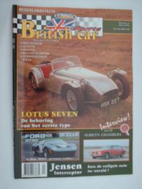 Britich Car Magazine  1996 NR 04 Tijdschrift  #1 Nederlands