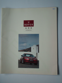 Rover 600  Brochure 93 #2 Nederlands