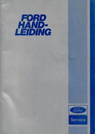 Ford Alle Modellen  Instructieboekje 80 #1 Nederlands