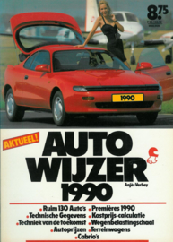 Auto Wijzer   Jaarboek 1990 #2 Nederlands
