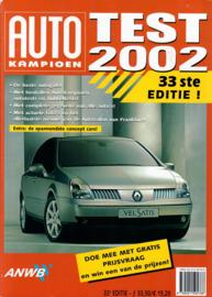 Autotest   Jaarboek 2002 #1 Nederlands
