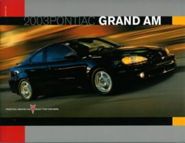 Pontiac Grand Am  Brochure .03 #1 Engels