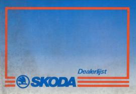 Skoda   Dealerlijst 87 #3 Nederlands