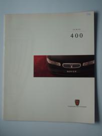 Rover 400  Brochure 97 #1 Nederlands