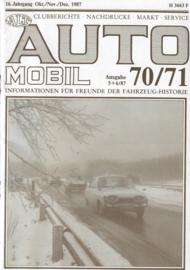 Alt-Auto Mobil 70 71    1987 #1 Duits