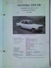 Vauxhall Viva  Vraagbaak ATH 67-68 #1 Nederlands