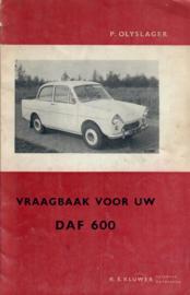 Daf 600  Vraagbaak 59-60 #1 Nederlands